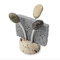 Sea Stone Splash Sponge Holder