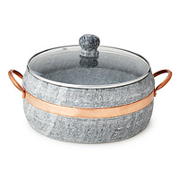 Soapstone Stew Pot with Copper Handle