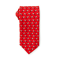 Perfect Spiral Football Tie