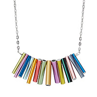 Knitting Needle Statement Necklace