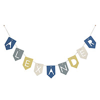 Personalized Wooden Baby Bunting
