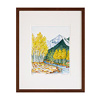 Aspens of the Rocky Mountains