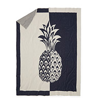 Split Pineapple Throw