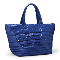 Large Quilted Parachute Tote