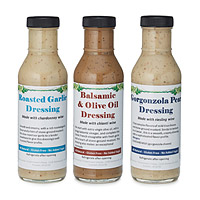 Wine Infused Salad Dressing - Set of 3