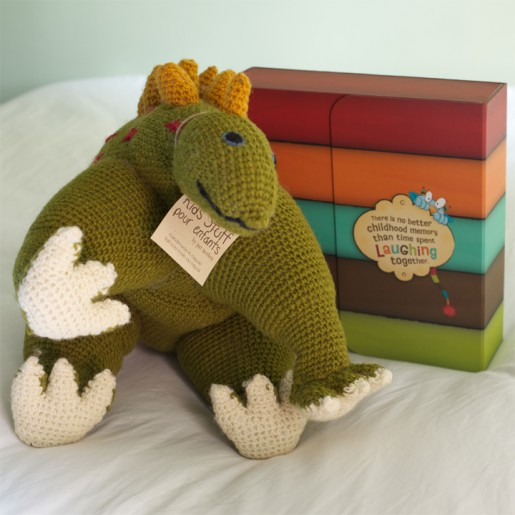 Dino Doll and Tickle Monster