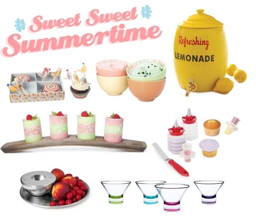Sweet Treats for Summer