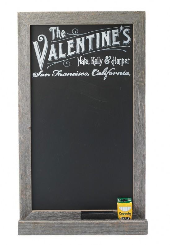 Personalized Chalk Board