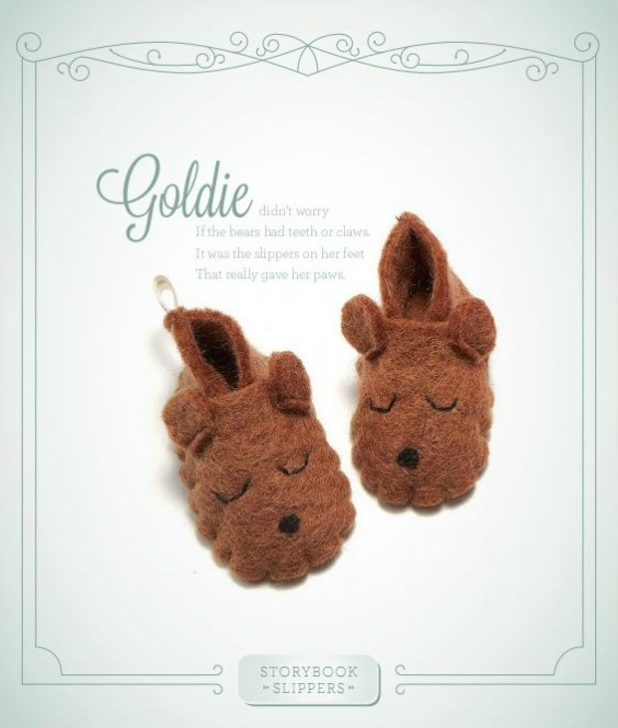 Storybook Slippers   UncommonGoods