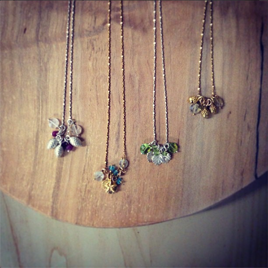 Four Seasons Necklaces | UncommonGoods