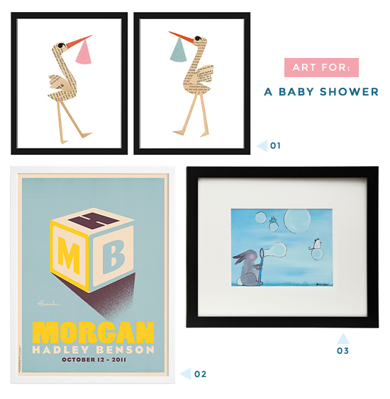 Art for a baby shower | UncommonGoods