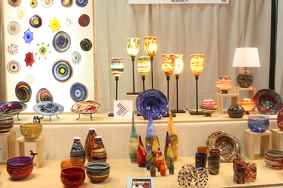 Jim Loewer's booth at NYNow | UncommonGoods