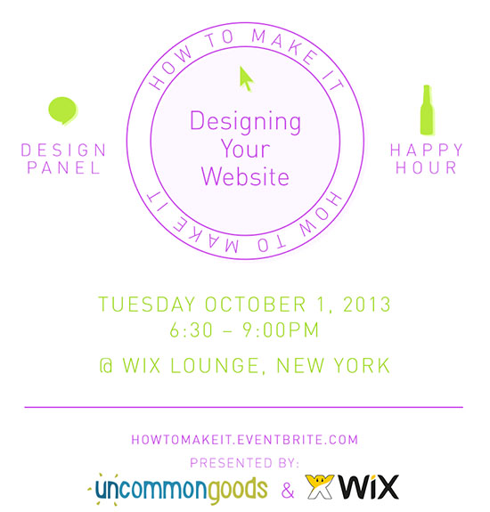 How To Make It: Designing Your Website | UncommonGoods