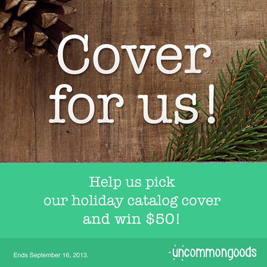 Win a $50 UncommonGoods Gift Card!