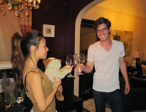 Musical Wine Glass Toast