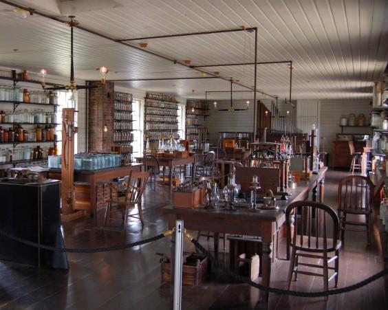 Replica of Edison's Menlo Park Laboratory