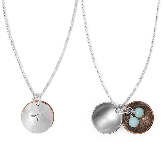 Nest Egg Necklace | UncommonGoods