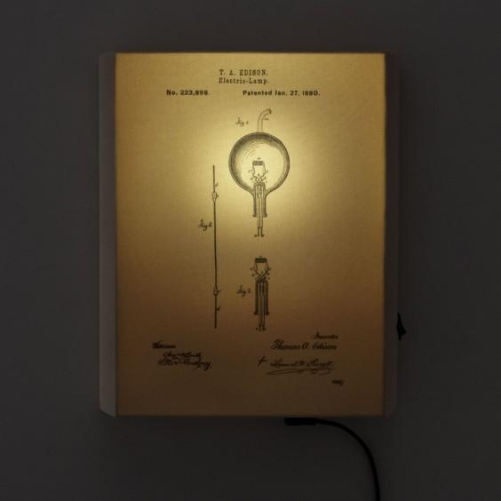 Edison Illuminated Art | UncommonGoods