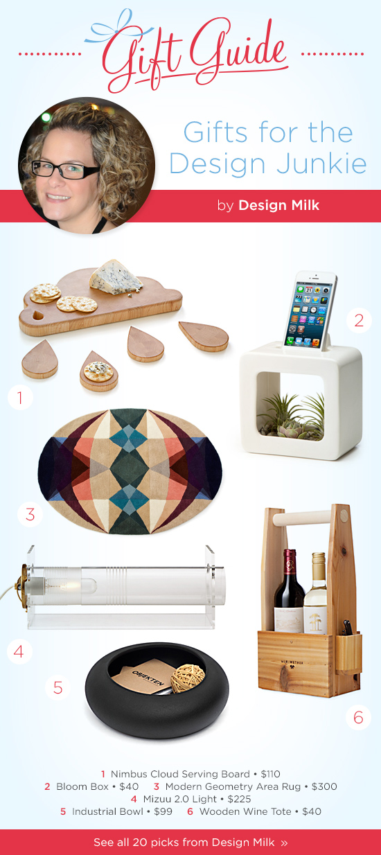 Gifts for the Design Junkie by Design Milk | UncommonGoods