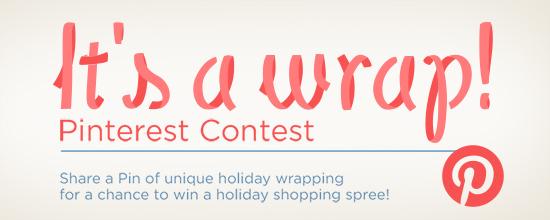 Its A Wrap Pinterest Contest