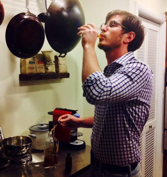 Drinking Bourbon