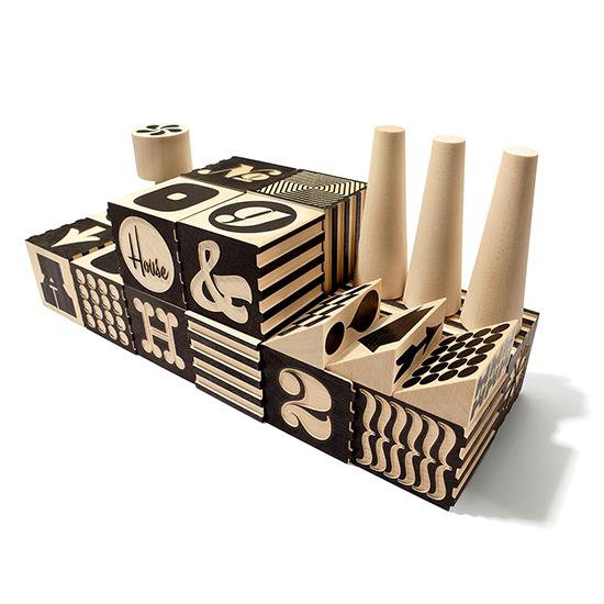 Alphabet Factory Blocks | $70 | UncommonGoods