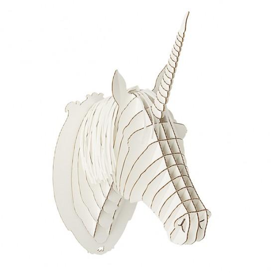 Cardboard Unicorn Head | UncommonGoods