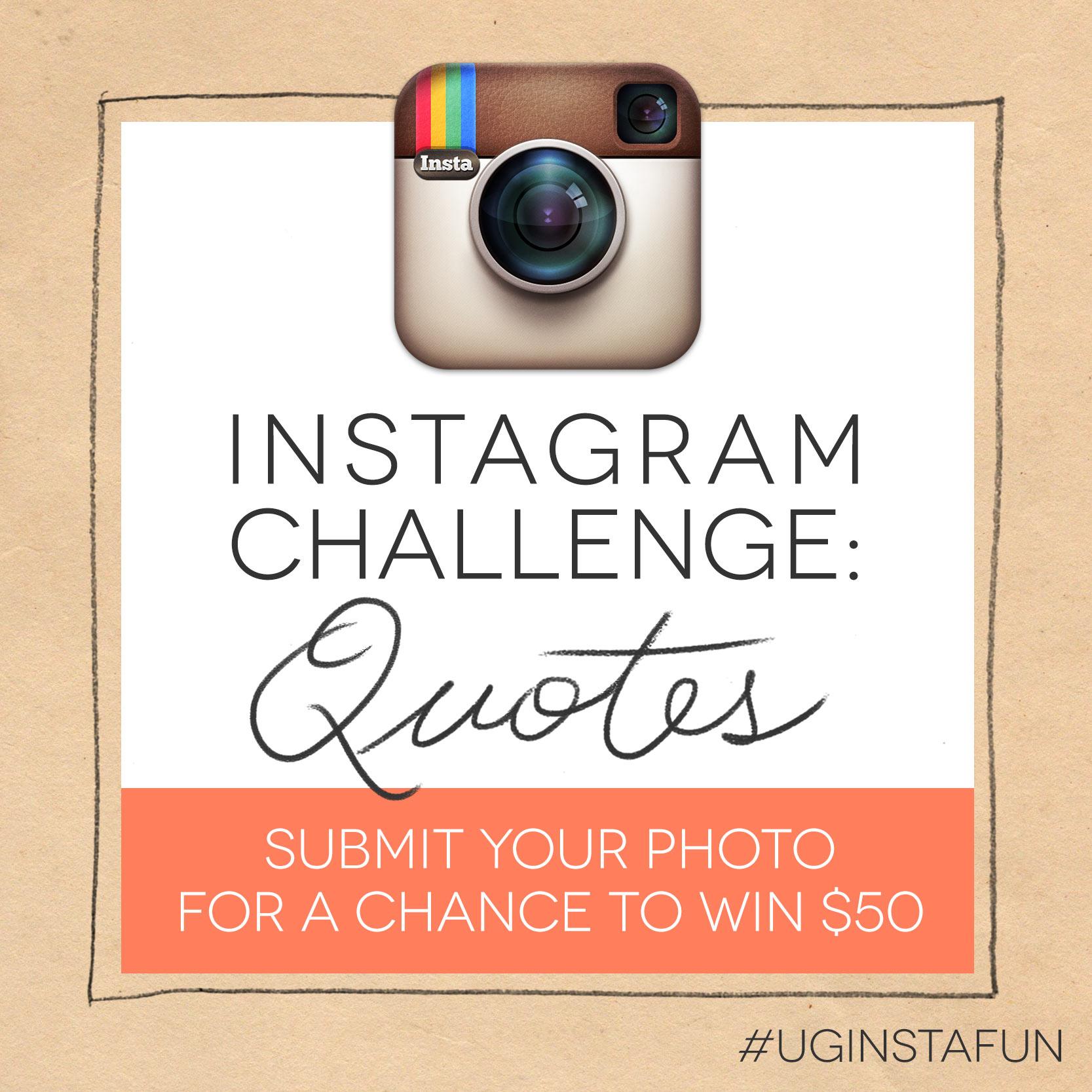 Instagram Challenge: QUOTES -The Goods