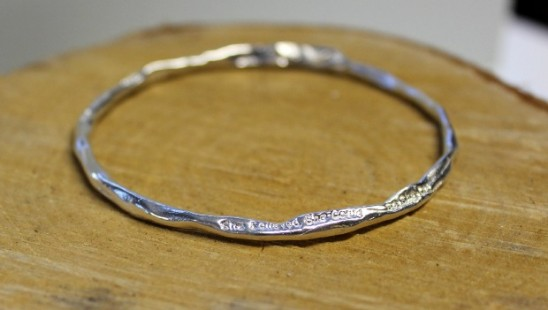 She Believed She Could Bangle | UncommonGoods