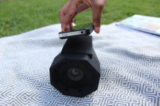Boombox Touch Speaker   Gift Lab   UncommonGoods