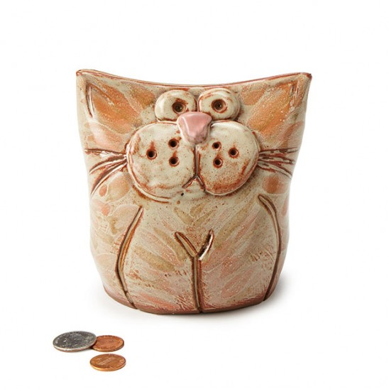 Mr Chubbles The Fat Cat Bank | UncommonGoods