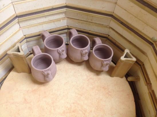 Elwood in kiln