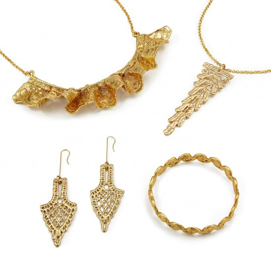 Dipped Lace Jewelry Collection | UncommonGoods