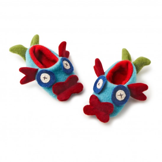 Baby Guppy Slippers | UncommonGoods