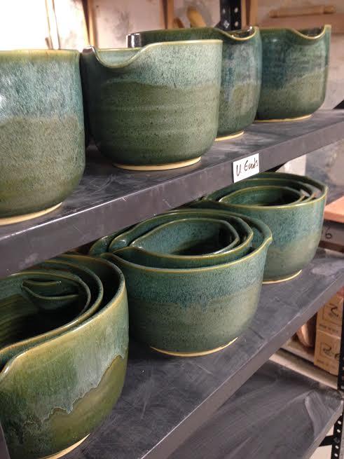 Nesting Stoneware Mixing Bowls | UncommonGoods