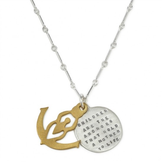 Children Are The Anchors Necklace | UncommonGoods