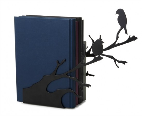Perching Bird Bookends | UncommonGoods