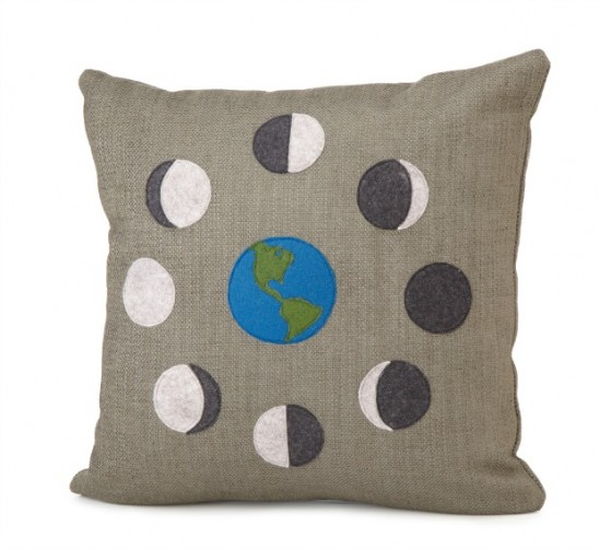 Moon Phase Pillow | UncommonGoods