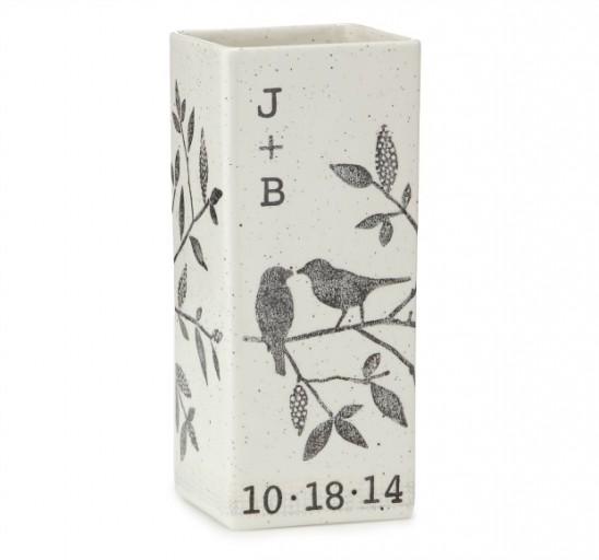 Personalized Songbird Vase | UncommonGoods
