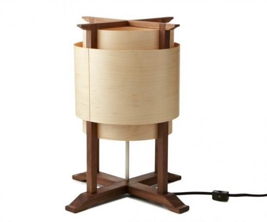 Wooden Wrap Lamp | UncommonGoods