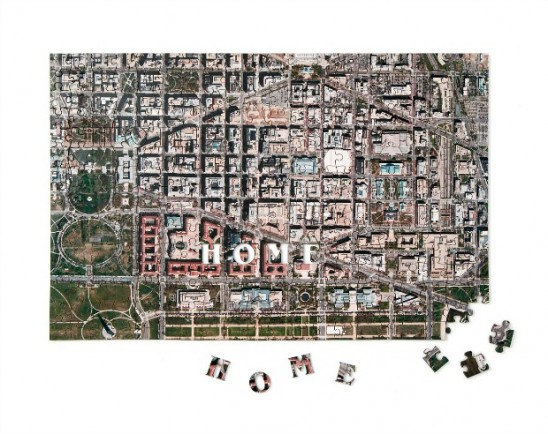Custom Satellite Map Puzzle | UncommonGoods