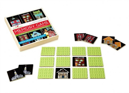 Fresh Architecture Memory Game | UncommonGoods