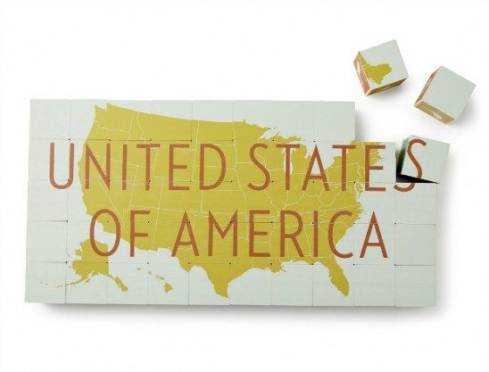 United States of America Blocks Set | UncommonGoods