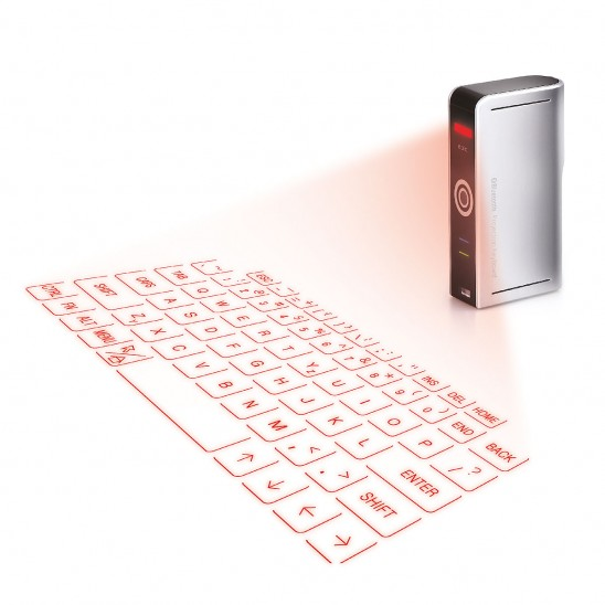 Laser Projection Keyboard | UncommonGoods