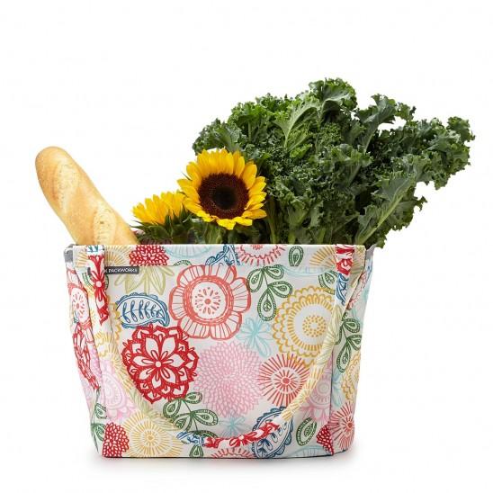 Foldable Market Basket   Uncommongoods