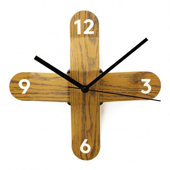 Faux Boise Sticker Clock | UncommonGoods
