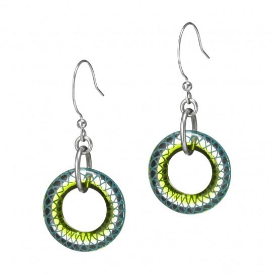 Spiro Earrings | Glass Design Challenge Winner | UncommonGoods