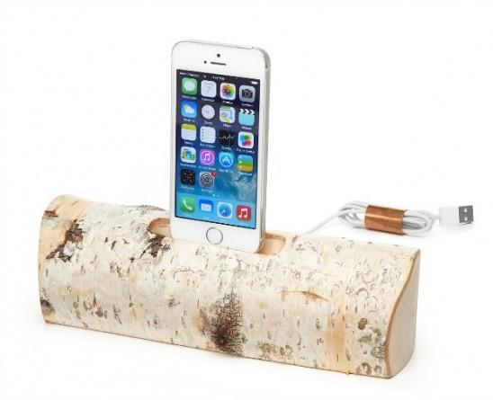 Birch iPhone Charging Dock | UncommonGoods
