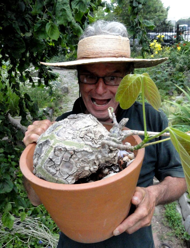 Amir in Green Dome Garden