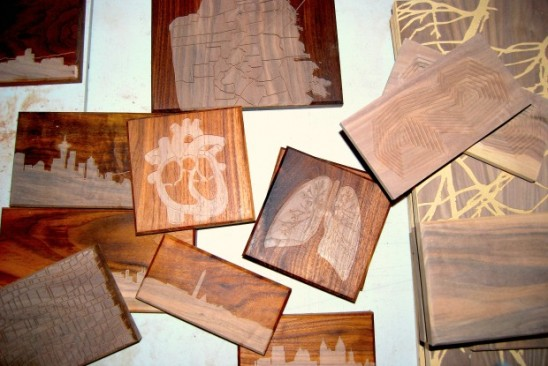 Wooden Routing Art by Dave Marcoullier | UncommonGoods